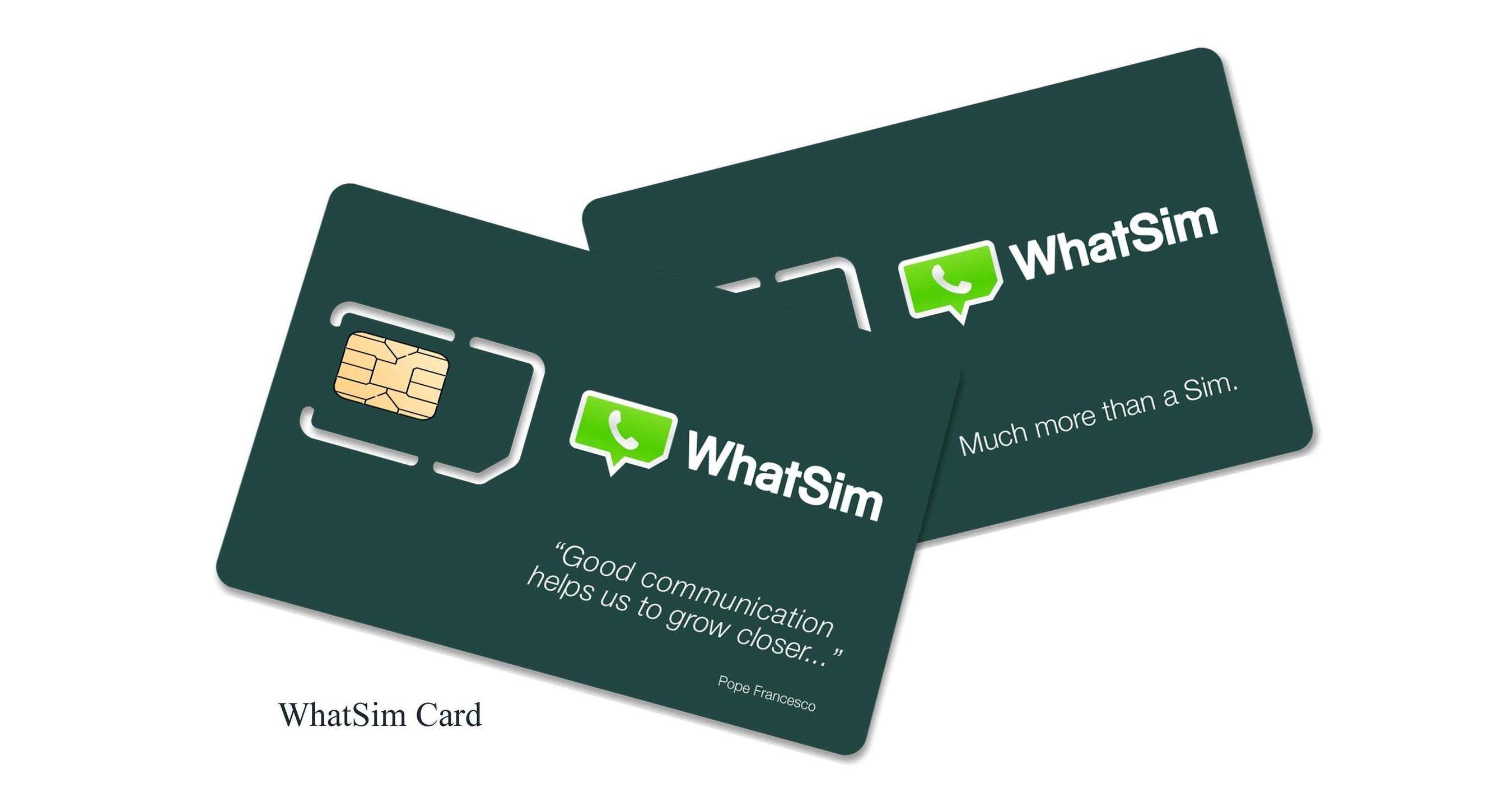 WhatSim Card (PRNewsFoto/Zeromobile)