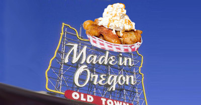 Made in Oregon - Sweet Apple Pie Fries! (PRNewsFoto/Sweet Apple Pie Fries!)