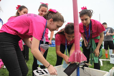 This team of girl scouts from California is one of the seven all-girl TARC teams to advance to the 2015 national finals.