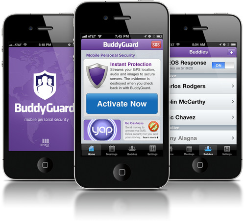 BuddyGuard Personal Protection Service Debuts in App Store