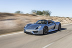 The Porsche 918 Spyder wins the Robb Report 2015 Car of the Year award.