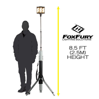 FoxFury Nomad High CRI Production Lights are rechargeable, submersible and flicker-free. Nomad lighting tools deploy in seconds.