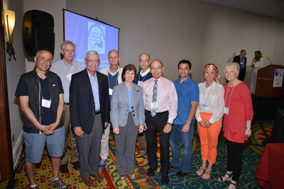 Stomach cancer survivors and PREP Mentors at the 2014 Debbie's Dream Foundation Stomach Cancer Education Symposium (PRNewsFoto/Debbie's Dream Foundation: Curin)
