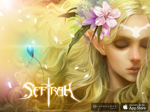 INFRAWARE Launches Sefirah, Korea's #1 Mobile Game, Globally.  (PRNewsFoto/INFRAWARE)