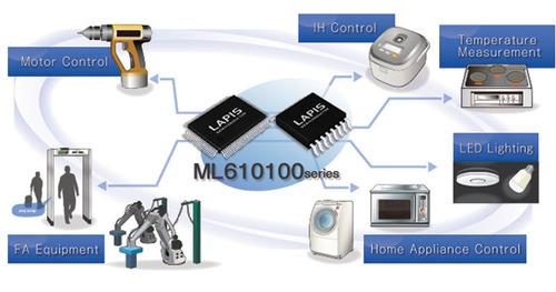 ROHM's New LAPIS 8bit Flash Microcontrollers Ideal for Small Single-Phase DC Motor Control. ...