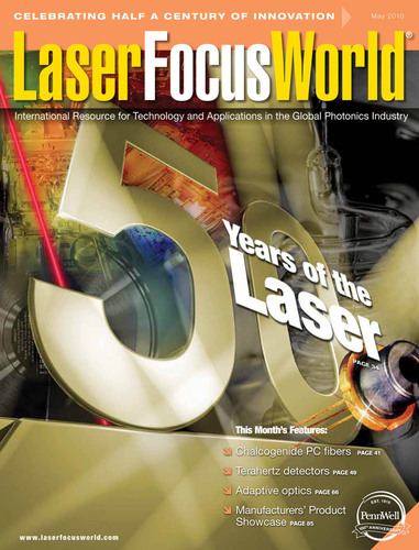 Laser Focus World Magazine Wins Gold at 2011 Folio Awards in New York City.  (PRNewsFoto/PennWell Corporation)