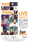 Stand Up To Cancer Returns For Fifth Live Roadblock Telecast  Friday, September 9 Bradley Cooper To Executive-Produce With Award-Winning Team At Done + Dusted