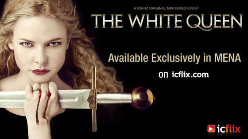 The White Queen, available exclusively on icflix for the Middle East and North Africa (PRNewsFoto/icflix media FZ LLC)