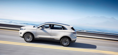 The Lincoln MKC Concept, introduced at the 2013 North American International Auto Show, is a vision of how ...