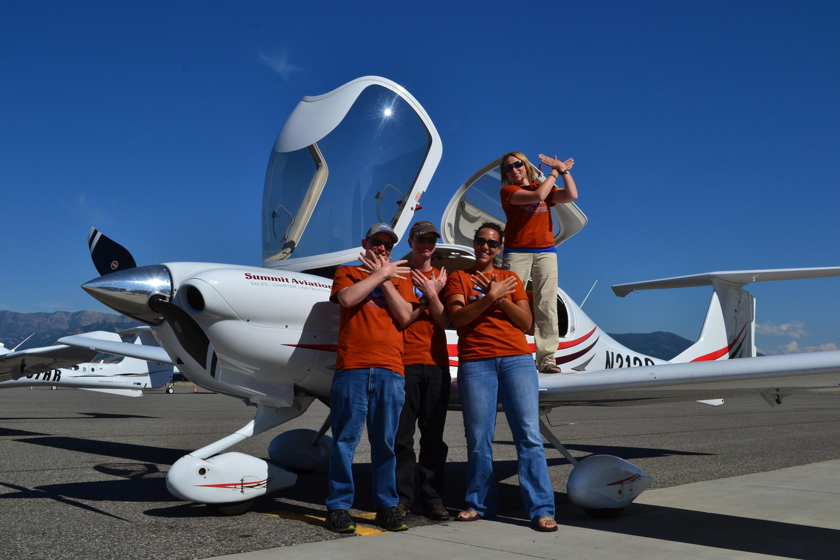 Flying High: Big Sky Kid's Cancer Survivor Flight Camp