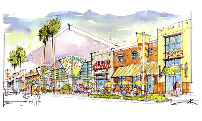 Sansone Companies to Redevelop Vegas' Iconic Boulevard Mall to Premier Shopping, Dining and Entertainment District. (PRNewsFoto/Sansone Companies)