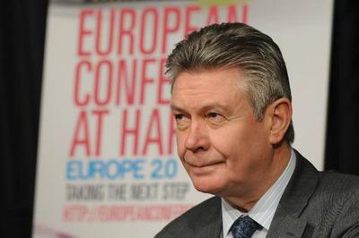 EU Newsbrief:  EU Trade Commissioner: Transatlantic Trade Agreement to Provide Economic Stimulus.  (PRNewsFoto/Delegation of the European Union to the United States)