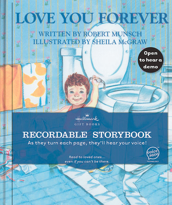 Hallmark adds the children's classic Love You Forever to its Recordable Storybook collection for Valentine's Day.  (PRNewsFoto/Hallmark Cards, Inc.)