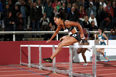 Competing as an ASICS athlete for the first time, Queen Harrison placed first in the 100-meter hurdles  at the Stockholm Diamond League meet on Thursday, August 21.