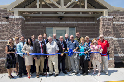 Chesapeake Utilities Corporation and Sharp Energy Inc., its wholly-owned subsidiary, have opened the new Sharp Energy headquarters building and AutoGas fueling station in Georgetown, Delaware. President and CEO Michael P. McMasters cut the ribbon at the ribbon cutting ceremony which was attended by state, local and Company officials.