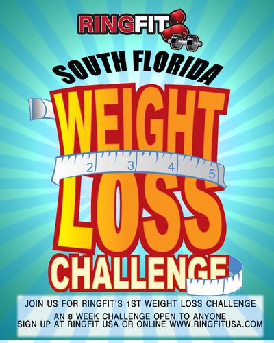 Weight Loss Challenge. (PRNewsFoto/RingFit USA) (PRNewsFoto/RINGFIT USA)