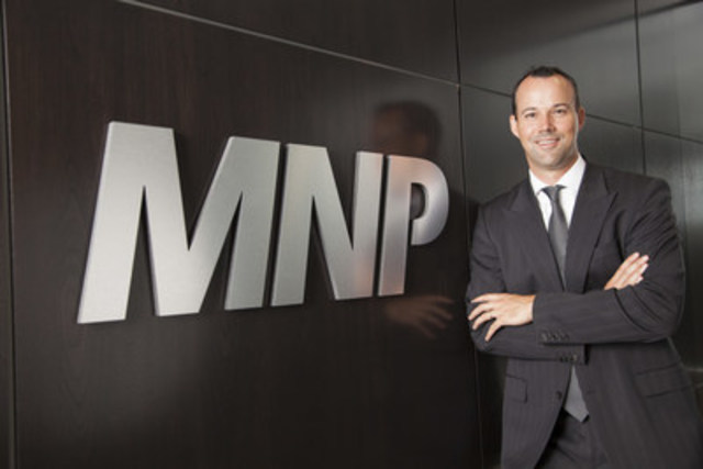 Jason Tuffs, chef de la direction de MNP (Groupe CNW/MNP LLP)