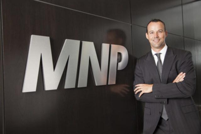 Jason Tuffs, chef de la direction de MNP (Groupe CNW/MNP LLP)