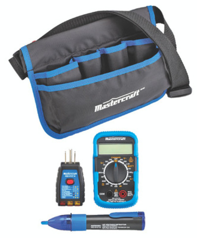 Mastercraft Multimeter Kit (Product #052-0727) (CNW Group/CANADIAN TIRE CORPORATION, LIMITED)