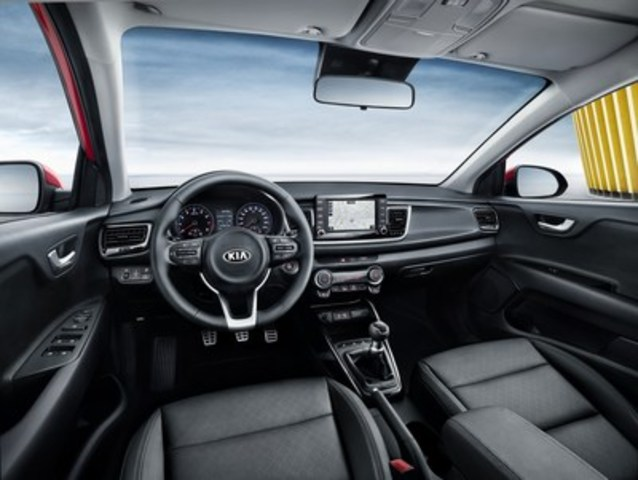 4th Generation Kia Rio Interior (CNW Group/KIA Canada Inc.)