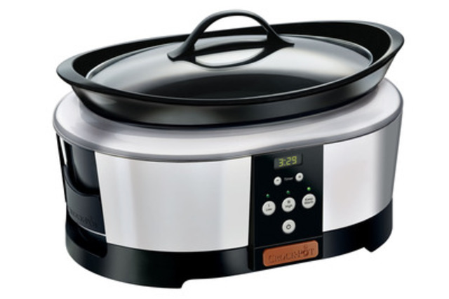 Today's technology has transformed the once basic Crock-Pot® slow cooker into a counter-worthy kitchen staple. (CNW Group/Jarden Consumer Solutions)