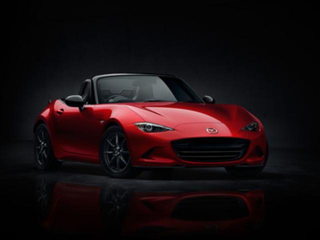 All-new 2016 Mazda MX-5 (front) (CNW Group/Mazda Canada Inc.)