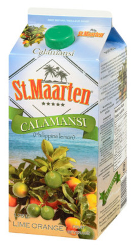 St. Maarten Calamansi 1.75L (CNW Group/AllJuice International Inc.)