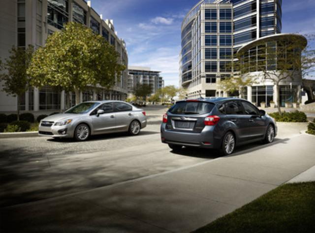 Subaru introduces all-new 2012 Impreza. (CNW Group/Subaru Canada Inc.)