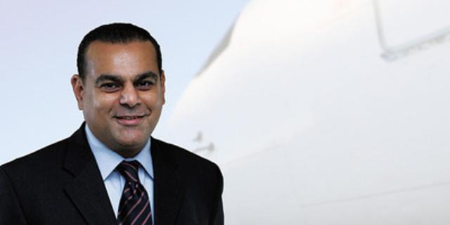 Paul Lochab, Chief Commercial Officer. (CNW Group/AVEOS FLEET PERFORMANCE INC.)