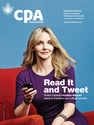 CPA Magazine is the new flagship publication of the Chartered Professional Accountants of Canada. Its core audience is Canada's accounting profession but the magazine also appeals to a much broader readership including top business leaders and decision makers. (CNW Group/CPA Canada)