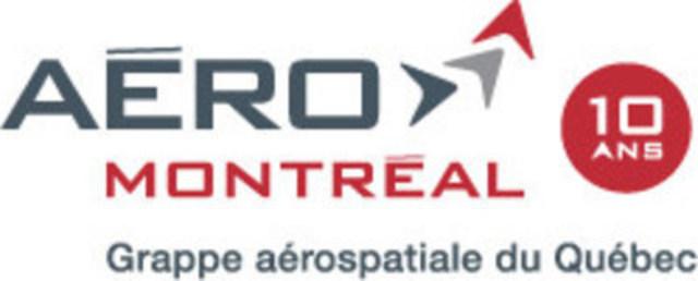 Logo: Aéro Montréal (Groupe CNW/Aéro Montréal) (CNW Group/Aéro Montréal)