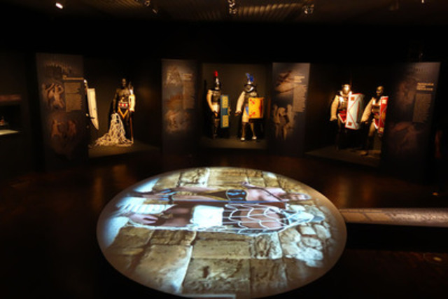 Gladiators and the Colosseum - Death and Glory is coming to the Canadian War Museum this summer - its only North American stop. Image courtesy of Contemporanea Progretti. (CNW Group/Canadian War Museum)