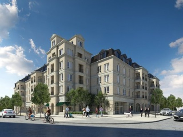 The Courtyards, condominiums in the heart of Cathedraltown (CNW Group/Cathedraltown Courtyard 1 Limited Partnership)