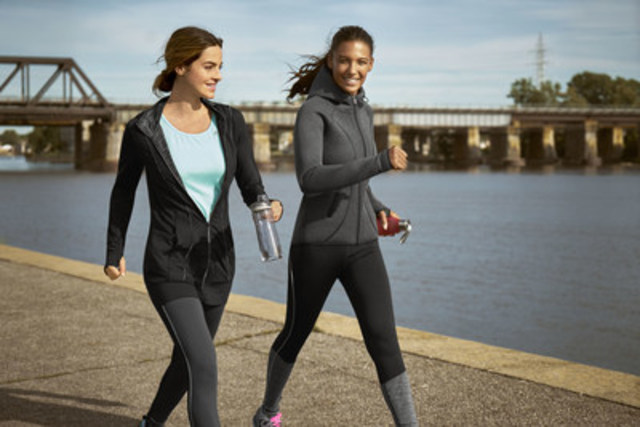 Reitmans gets moving with new Hyba activewear banner. (CNW Group/Reitmans (Canada) Limited)