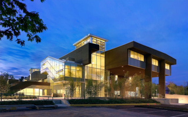 The Langara College Library/Classroom Building. (CNW Group/Langara College)