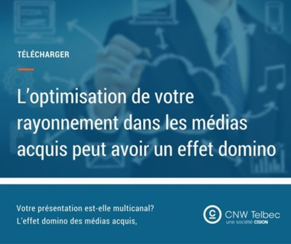 L'effet domino des médias acquis (Groupe CNW/Groupe CNW Ltée)