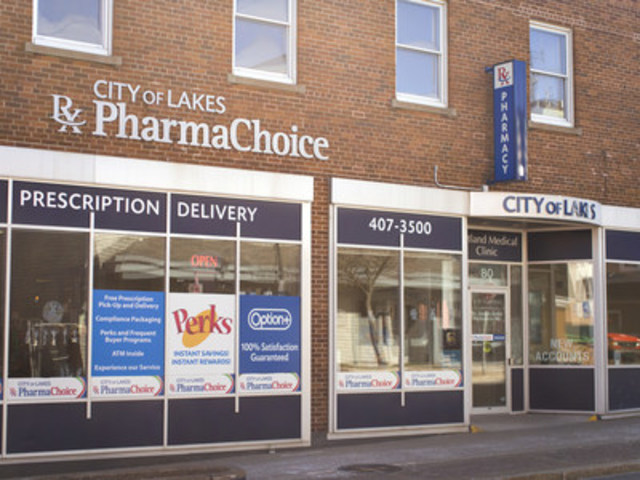 Pictured above: City of Lakes PharmaChoice in Dartmouth, NS. (CNW Group/PharmaChoice)
