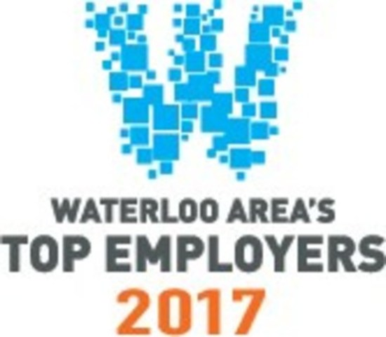 Waterloo Area's Top Employers 2017 (CNW Group/Economical Insurance)