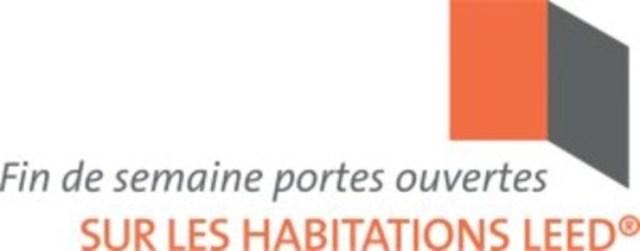 Logo : Fin de semaine portes ouvertes sur les habitations LEED® (Groupe CNW/Évaluations Écohabitation)