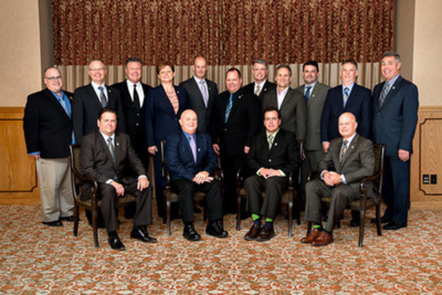 Appraisal Institute of Canada's 2016/2017 Board of Directors (CNW Group/Appraisal Institute of Canada)