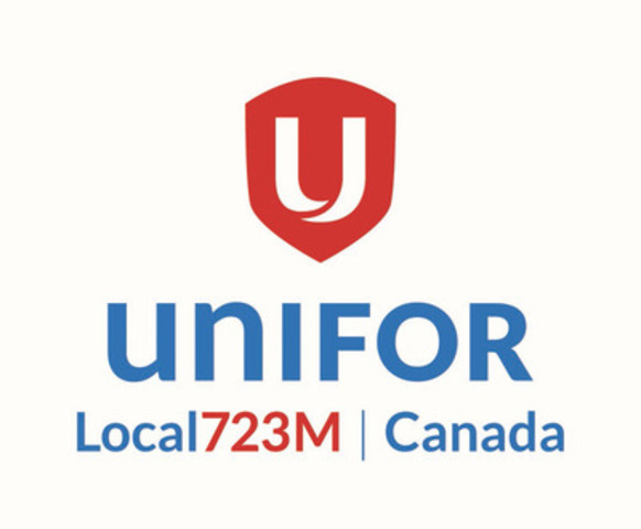 UNIFOR LOCAL 723M (CNW Group/UNIFOR LOCAL 723M)