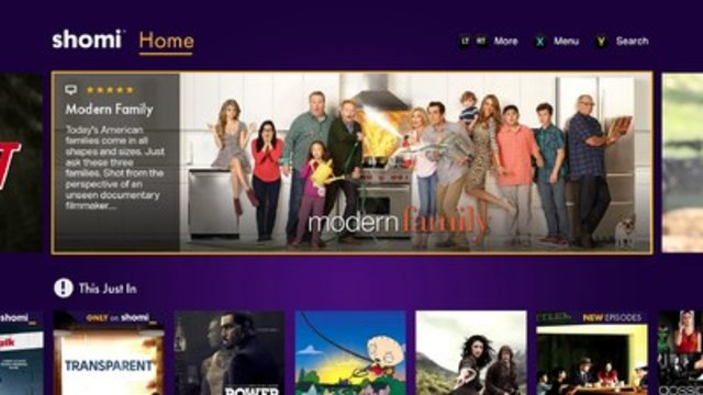 shomi Launches May 3 on Xbox One (CNW Group/shomi)