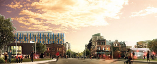 Front Street Promenade : DundeeKilmer Integrated Design Team (CNW Group/Canary District Condominiums)