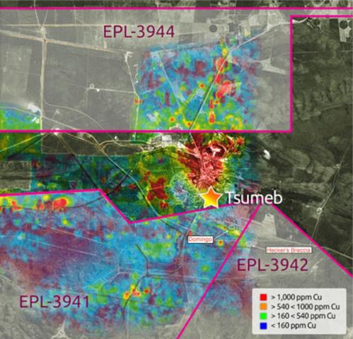 Kombat EPL targets (CNW Group/Kombat Copper Inc.)