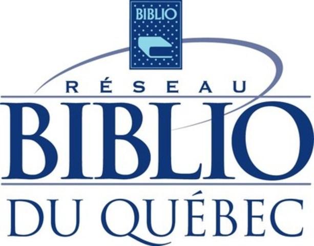 Logo: Réseau BIBLIO du Québec (Groupe CNW/Réseau BIBLIO du Québec)
