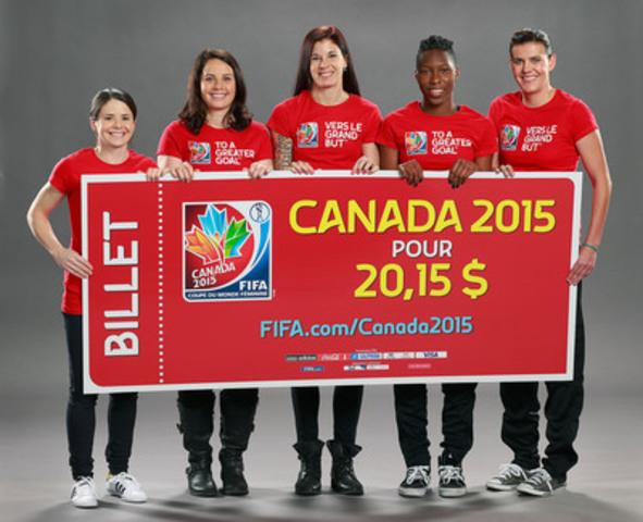 Cnw coupe du monde f minine de la fifa canada 2015 - Billet coupe du monde 2015 ...