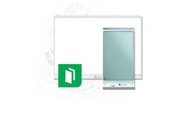 SMART kapp, the whiteboard that anyone can see, from anywhere (CNW Group/SMART Technologies Inc.)