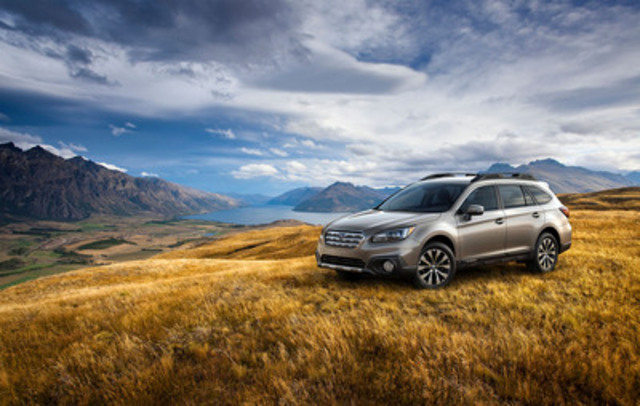 2015 Subaru Outback (CNW Group/Subaru Canada Inc.)