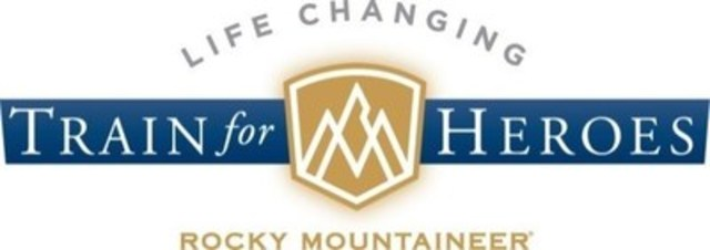 Rocky Mountaineer Life Changing Train for Heroes (CNW Group/Rocky Mountaineer)
