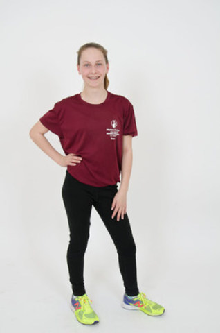 Aurélie, 14, will complete her first Spartan Race on July 16th (CNW Group/Shriners Hospitals For Children)